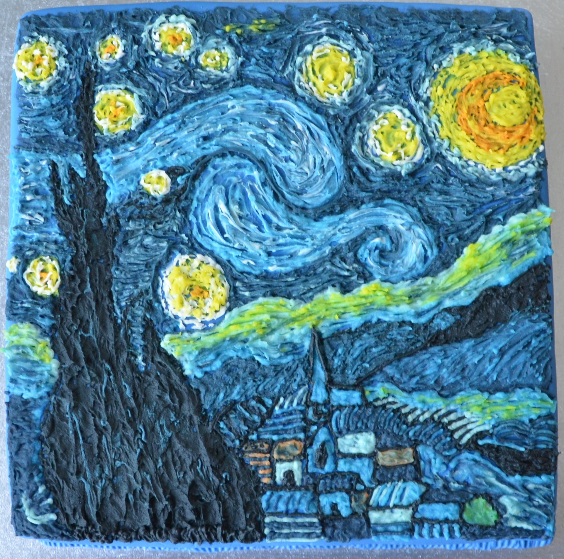 Starry night vincent van gogh essay