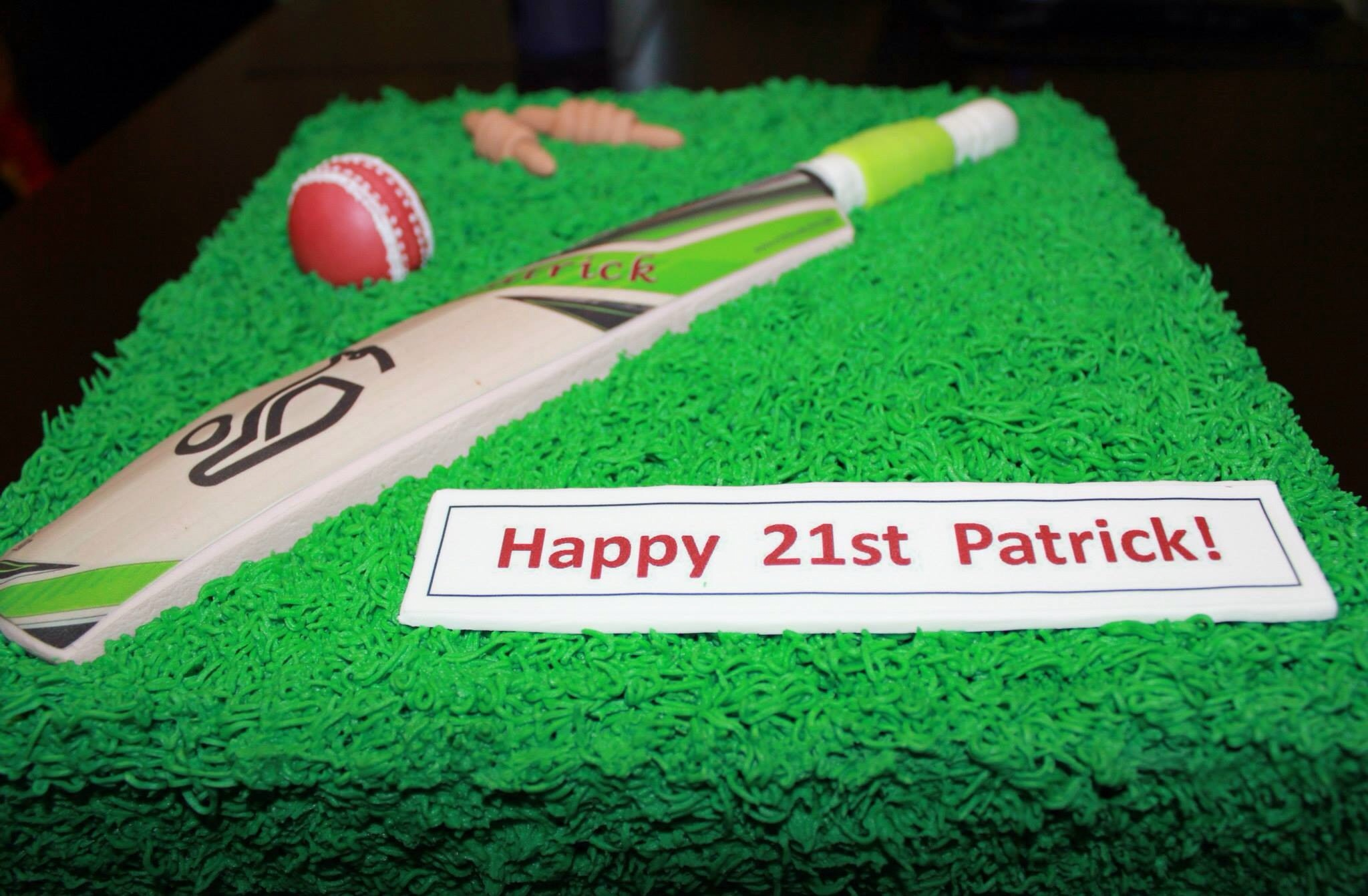 Cricket Cake By Sarah Jessica